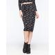 RVCA My Other Half Womens Midi Skirt