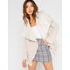 OTHERS FOLLOW Womens Reversible Plush Jacket