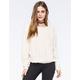 EYESHADOW Rose Fur Womens Sweatshirt