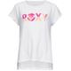ROXY Logo Step Hem Girls Tee