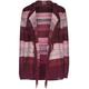 FULL TILT Ombre Stripe Girls Hooded Wrap Sweater
