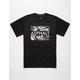 ASPHALT YACHT CLUB Splattered Logo Mens T-Shirt