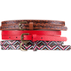 3 Pack Ethnic Skinny Belts