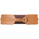 Diagonal Stitch Stretch Womens Belt