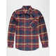 LRG Root Down Mens Flannel Shirt
