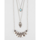 FULL TILT 3 Layer Turquoise/Arrow/Statement Necklace