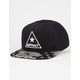 AYC Reflective Hibiscus Mens Snapback Hat