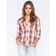 ROXY Sneaky Peaks Womens Flannel Shirt