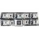 BUCKLE-DOWN Caddie 100 Dollar Bill Buckle Belt