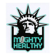 MIGHTY HEALTHY Evil Empire Sticker