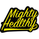 MIGHTY HEALTHY Slugger Sticker