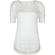 FULL TILT Essential Lace Inset Womens Top