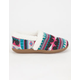 TOMS Fair Isle Girls Slippers