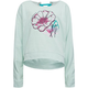 ROXY Lace Up Back Girls Sweatshirt
