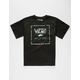 VANS Filled Logo Box Boys T-Shirt