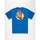 SANTA CRUZ x Marvel Iron Man Hand Mens T-Shirt