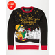 Snowman Light Up Ugly Christmas Sweater
