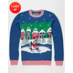 Penguin Light Up Ugly Christmas Sweater