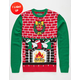 Home Sweet Home Light Up Ugly Christmas Sweater