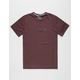 HURLEY Dri-FIT Mens Henley