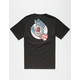 SANTA CRUZ x Marvel Captain America Hand Mens T-Shirt