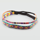 FULL TILT 2 Piece Ethnic Print Headbands
