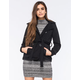 FULL TILT Sherpa Knit Womens Peacoat
