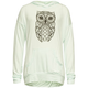 FULL TILT Owl Hi Low Girls Lightweight Hoodie