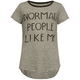 FULL TILT Normal People Like Me Girls Tee