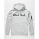 BLACK SCALE Script Logo Mens Hoodie