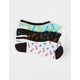 VANS 3 Pack Say The Word Canoodles Womens Socks