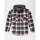 ELIXIR Hawk Boys Hooded Flannel Shirt