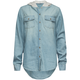 FULL TILT Hooded Girls Denim Shirt