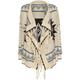 FULL TILT Ethnic Stamp Girls Wrap Sweater