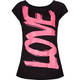 FULL TILT Love Neon Girls Tee
