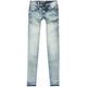 SCISSOR Released Hem Girls Skinny Jeans