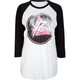 YOUNG & RECKLESS Distressed Womens Raglan Tee