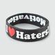 DGK Haters Rubber Bracelet