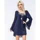 BLU PEPPER Lace Inset Dress