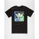 ADIDAS Tie Dye Blackbird Mens T-Shirt