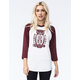REBEL8 Night Watch Womens Raglan Tee