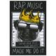 RIOT SOCIETY Rap Music Sticker