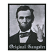 RIOT SOCIETY Gangster Abe Sticker