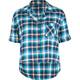 ALI & KRIS Plaid Crop Womens Shirt