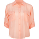 ALI & KRIS Double Pocket Womens Chiffon Shirt
