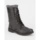 JESCO Knit Cuff Womens Combat Boots