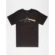 HABITAT SKATEBOARDS Dark Side Of The Moon Mens T-Shirt