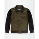 REBEL8 Wool Mens Varsity Jacket