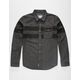 REBEL8 Striped Mens Shirt
