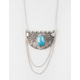 FULL TILT Turquoise Statement Necklace